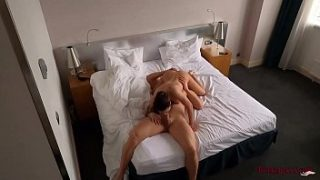 Hidden Hotel Cam Recorded Hot Sex in Different Poses with Facesitting and Creampie