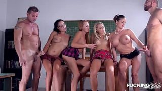 fucking in glasses with christen courtney and angel blade during school hours