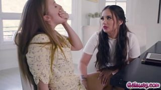 omfg this lesbian story is a true masterpiece lena paul and jade baker hires the super sexy babe gia paige to plan their wedding