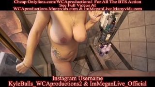 Showering With My Sexy French Stepmom Part 5 ImMeganLive